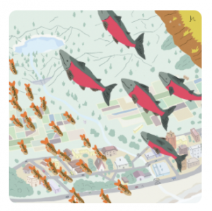 Board-game illustration