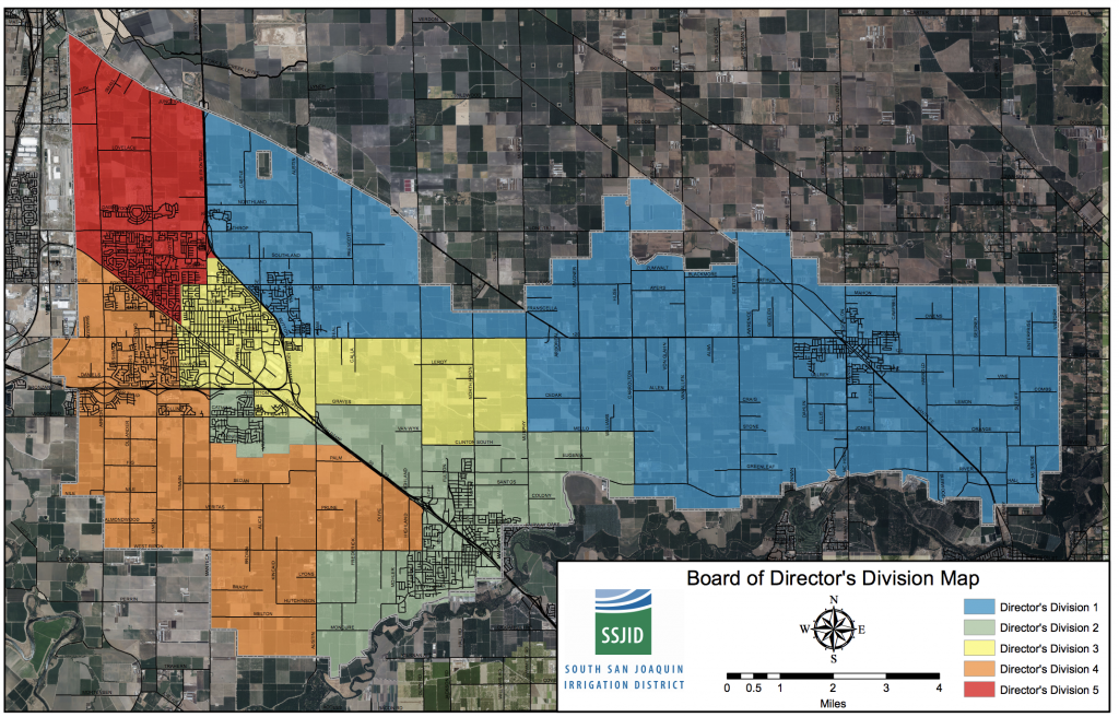 Board of Director's Division map